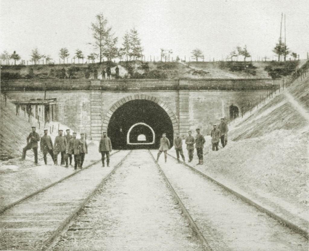 Pionier Bataillon 8-Tunnel-Sommepy