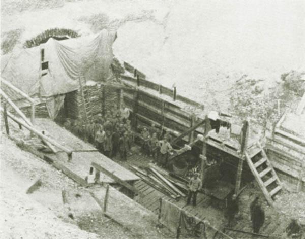 Tunnelsprengtrichter Pionier-Bataillon 4