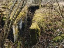 Kanonenberg concrete trench