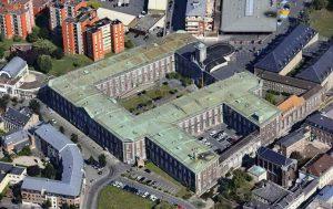 Hospice General Valenciennes vanuit de lucht