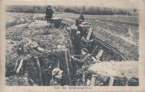 Bau Schützengräben