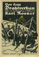 omslag boek Rosner Drahtverhau