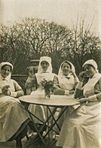 groep verpleegsters 1917