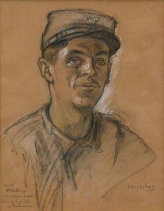 portret door Kristians