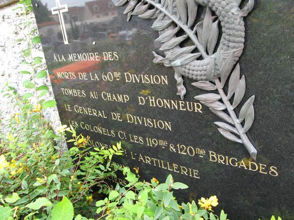 Plaquette_60e_Division